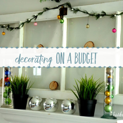 Decorating on a Budget : 3 Ways to turn Everyday Decor into Holiday Decor