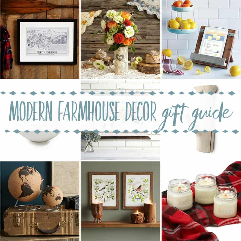 Home Design Gift Ideas: Gifts For A Farmhouse Decor Fan
