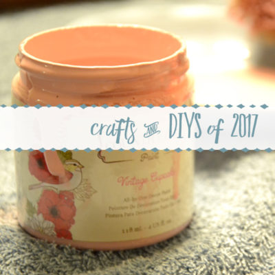 The Craft & DIY Projects of 2017