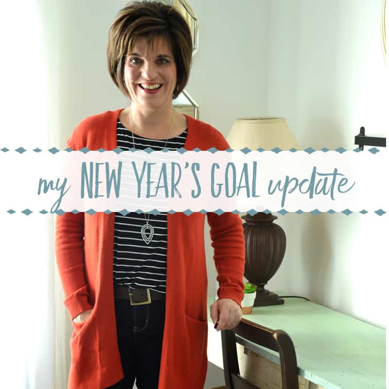 How a New Year's Goal Helped Me Lose 28 Pounds
