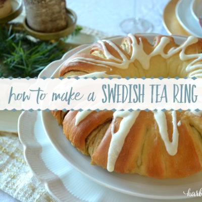 Swedish Tea Ring – Freeze Ahead Christmas Morning Recipe