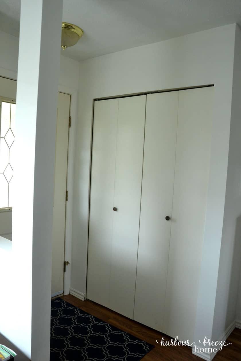 How To Convert Bi Fold Closet Doors Into Modern Farmhouse