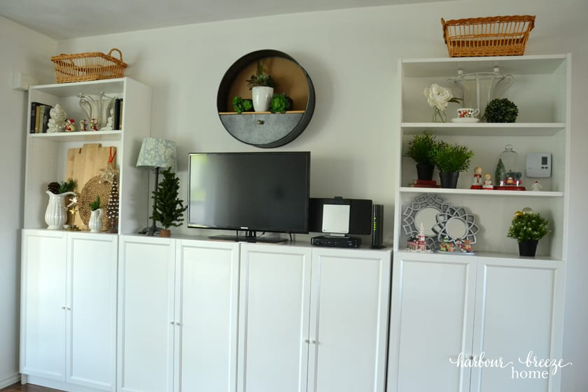 How to Organize Office Supplies in Ikeas Billy Bookcases Harbour