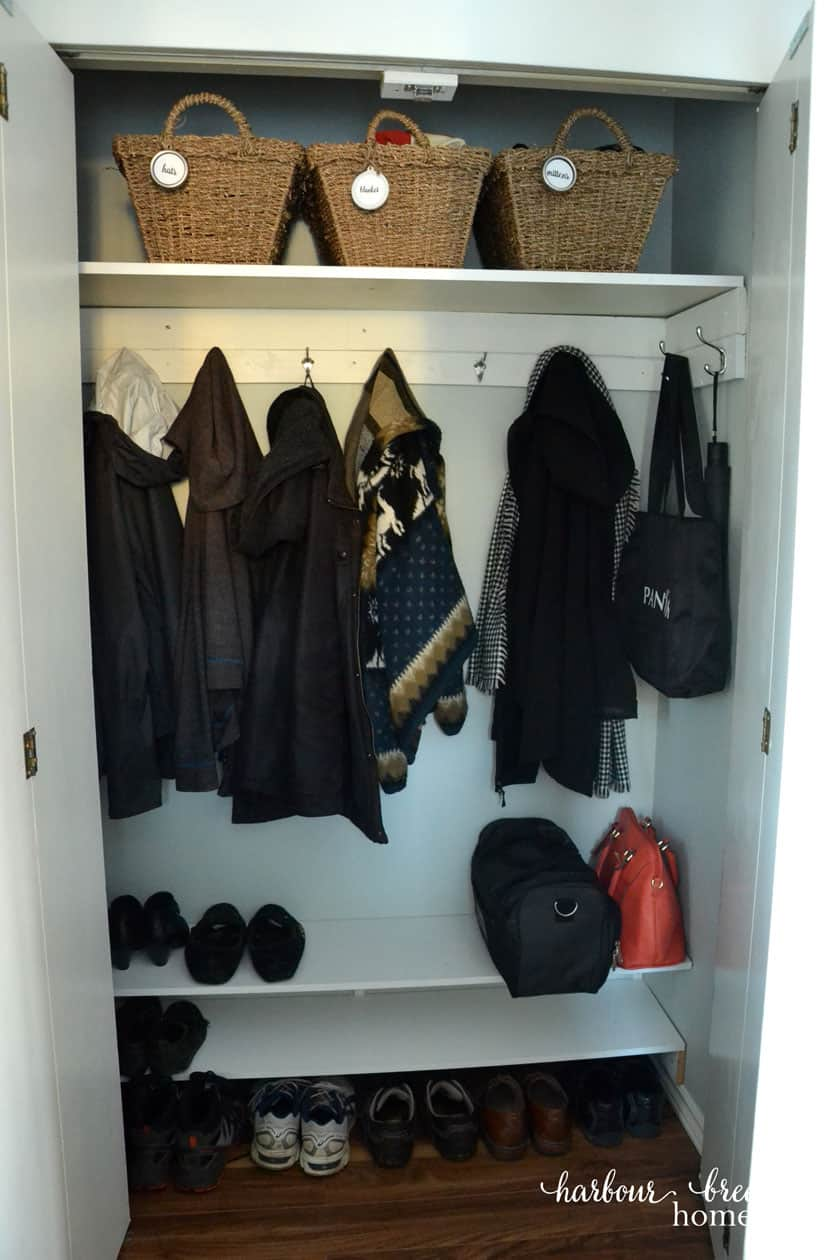 Small Entryway Organization