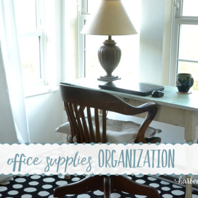 Office Supplies Drawer Organization