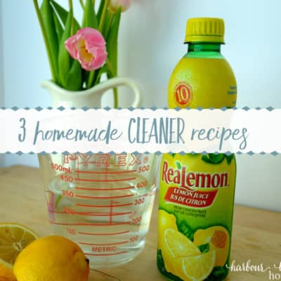 3 Homemade Cleaners for the Kitchen