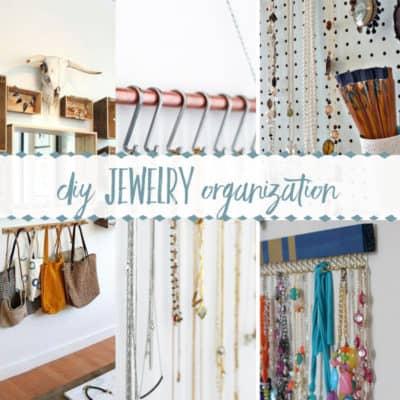 10 Creative DIY Jewelry Organizers