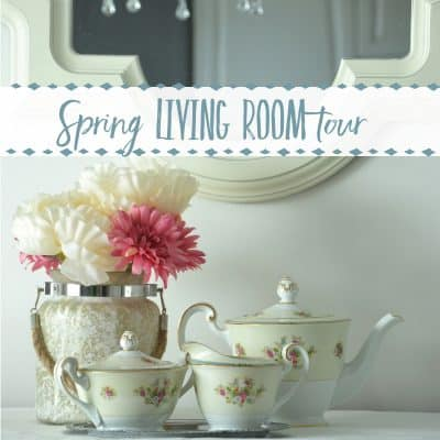 How to Add Spring to Your Small Living Room: The Canadian Bloggers SPRING Home Tour