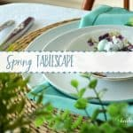 Spring Tablescape | The $5 Goodwill Challenge
