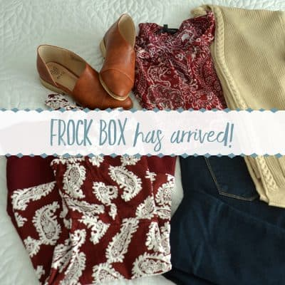 My Frock Box Experience ~ Canada's Clothing Subscription Service