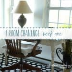 Townhouse Living Room One Room Challenge
