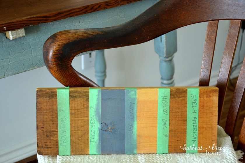 How to Strip Paint from Wood | A Farmhouse Table Makeover
