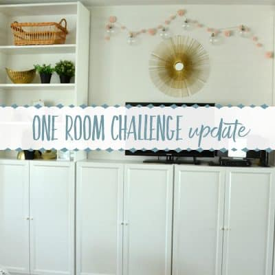 The One Room Challenge Update