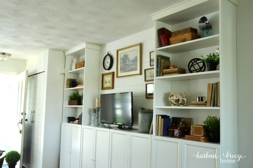 How to add Farmhouse Style to Billy Bookcases