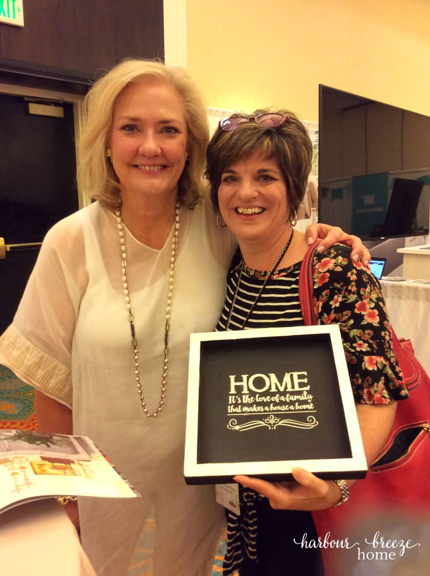Author with Amy Howard