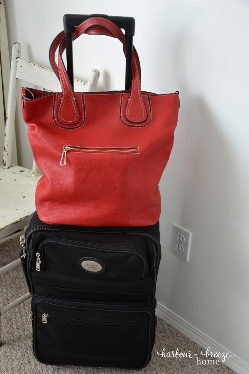 Carry on bags for a Summer vacation