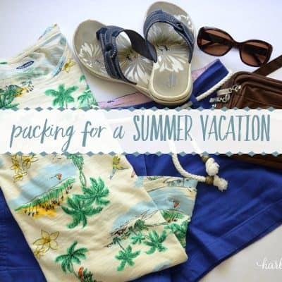Packing Tips for a Sunny Destination (Going to the Haven Conference!)