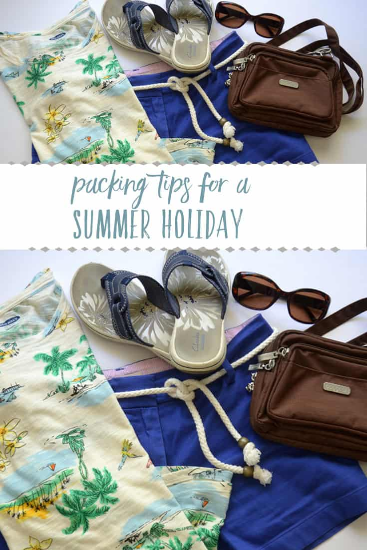 Packing tips for a Sunny Summer Vacation