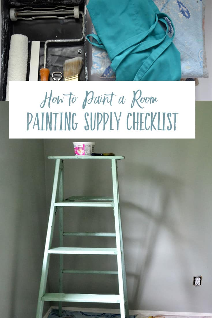 Painting supply checklist what supplies do i need to - What do you need to paint a room ...
