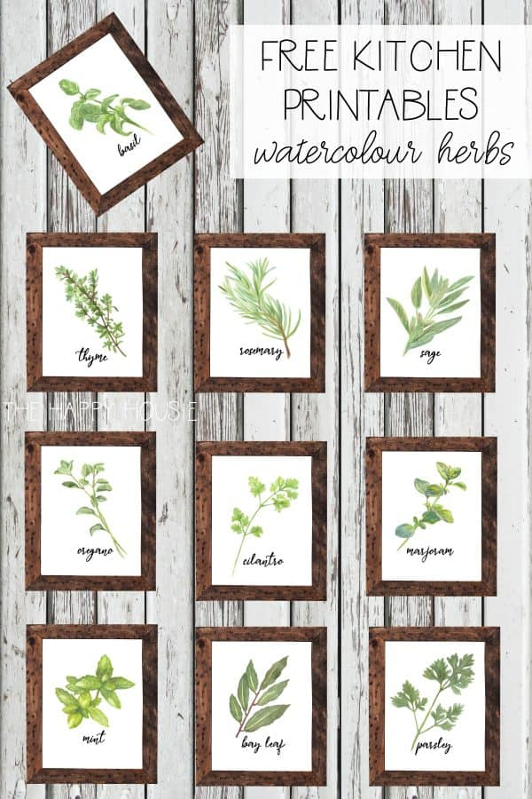 photo relating to Printable Sets referred to as 100+ Absolutely free Farmhouse Printables- Botanical Sets Harbour