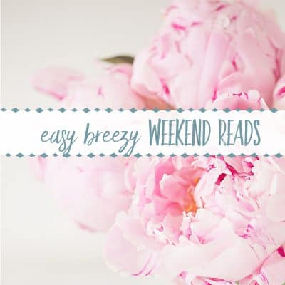 Easy Breezy Weekend Reads