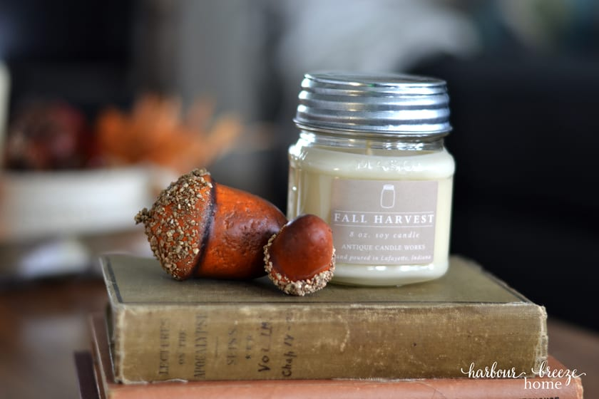 Fall Harvest Candle from Antique Candle Works