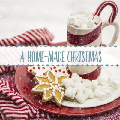 Homemade Christmas: Decor, Crafts, & Recipes for the Holiday Home