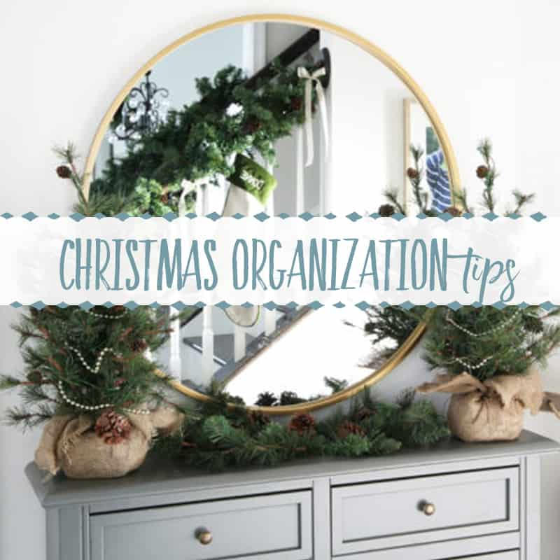 Christmas Organization Tips | Interview with Just a Girl and Her Blog