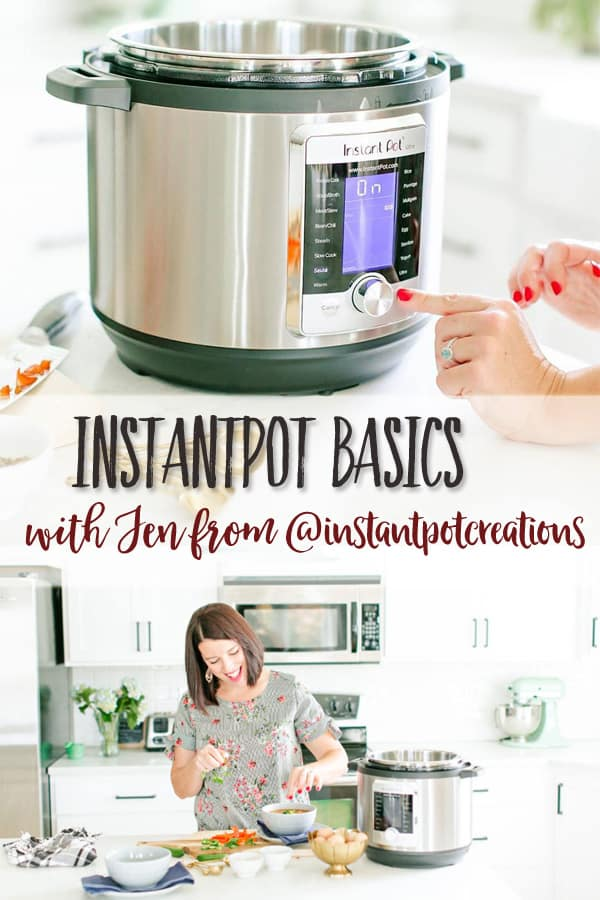 How to Cook with the Instantpot | An interview on the basics of Instantpot cooking with Jen from @instantpotcreations. Learn how to choose the right Instantpot for you, what you should do when you first get it, and where to find recipes and resources for Instantpot cooking. #instantpot #instantpothacks #cookingideas #healthycooking