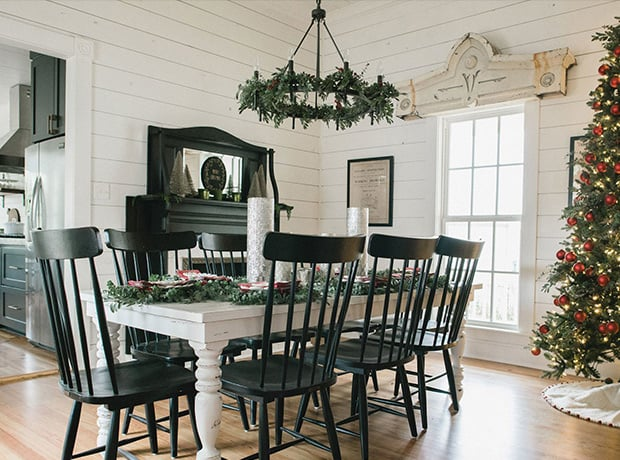 Chip Joanna Gaines Christmas Dining Room