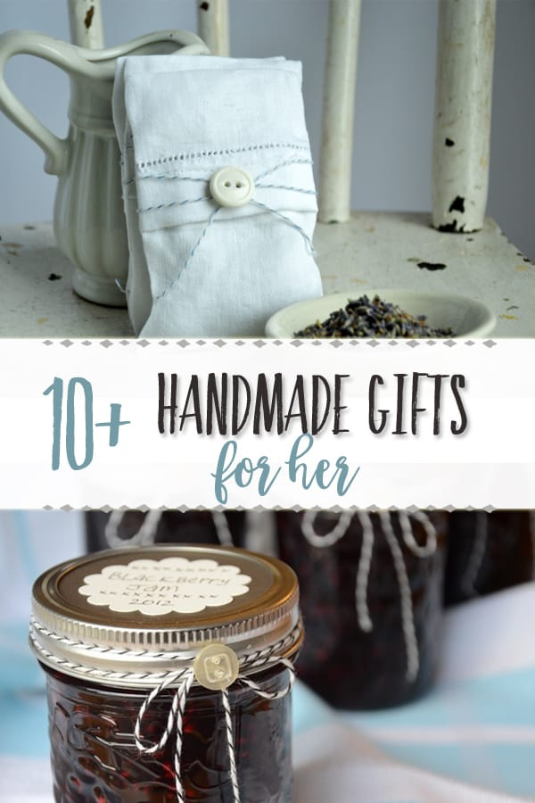 Christmas Gift Guide | Handmade gift ideas for women | These handmade gifts are perfect for the friend, sister, mom, neighbor, teacher, or any other special lady in your life. #gifts #giftideas #handmade #handmadegifts #christmas #christmasgifts