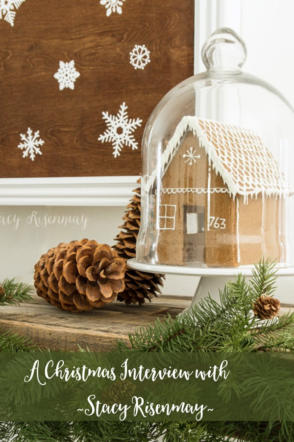 How to decorate for Christmas with Nature | A Christmas interview with Stacy Risenmay. #christmasdecor #farmhousechristmas