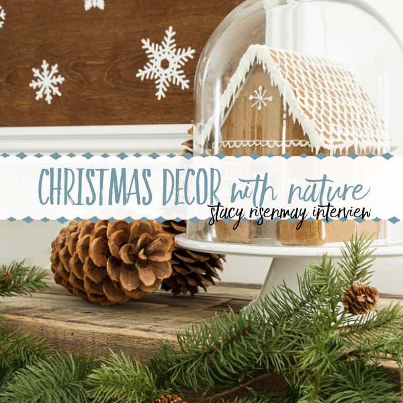 How to Decorate for Christmas with Nature | An Interview with Stacy Risenmay