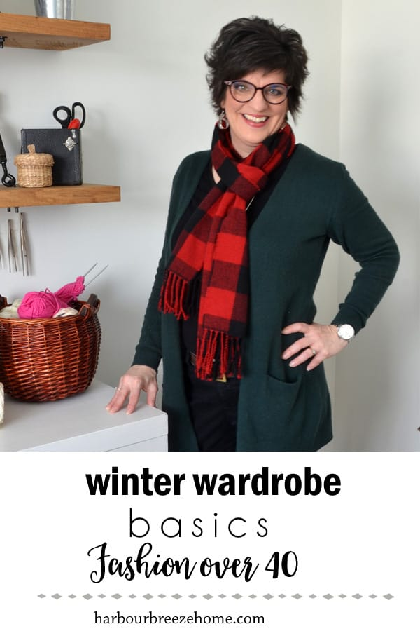 Winter Wardrobe Basics for Women over 50