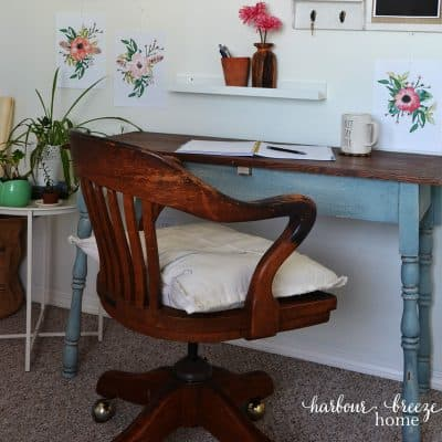 The Happily Ever After Craft Room & Office Reveal