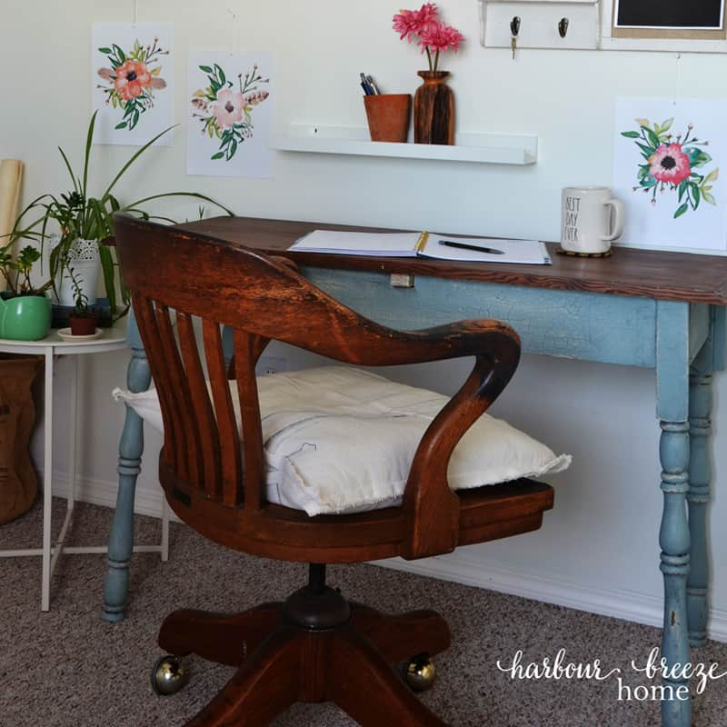 The Happily Ever After Farmhouse Craft Room & Office Reveal