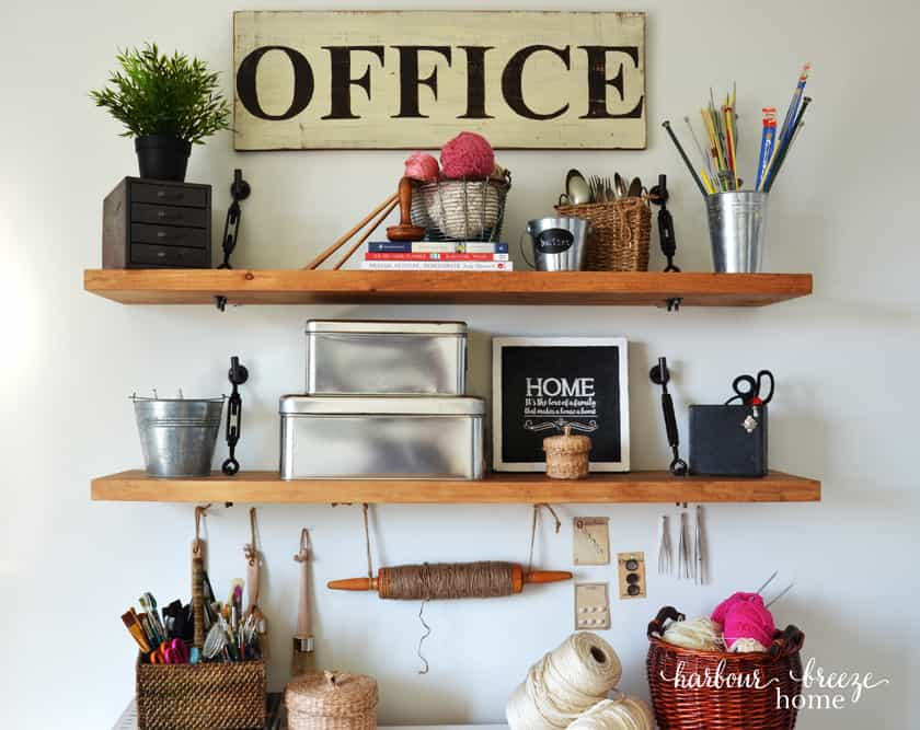 How To Make A Floating Shelf With Turnbuckle Hardware