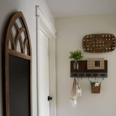 Farmhouse Style Hallway Makeover Reveal