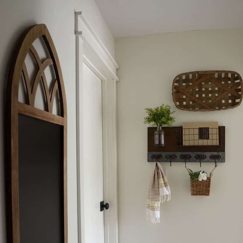 Farmhouse Style Hallway Makeover Reveal