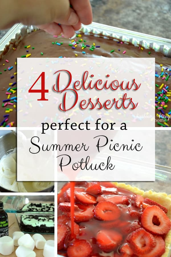 4 Delcious Desserts perfect for Summer parties