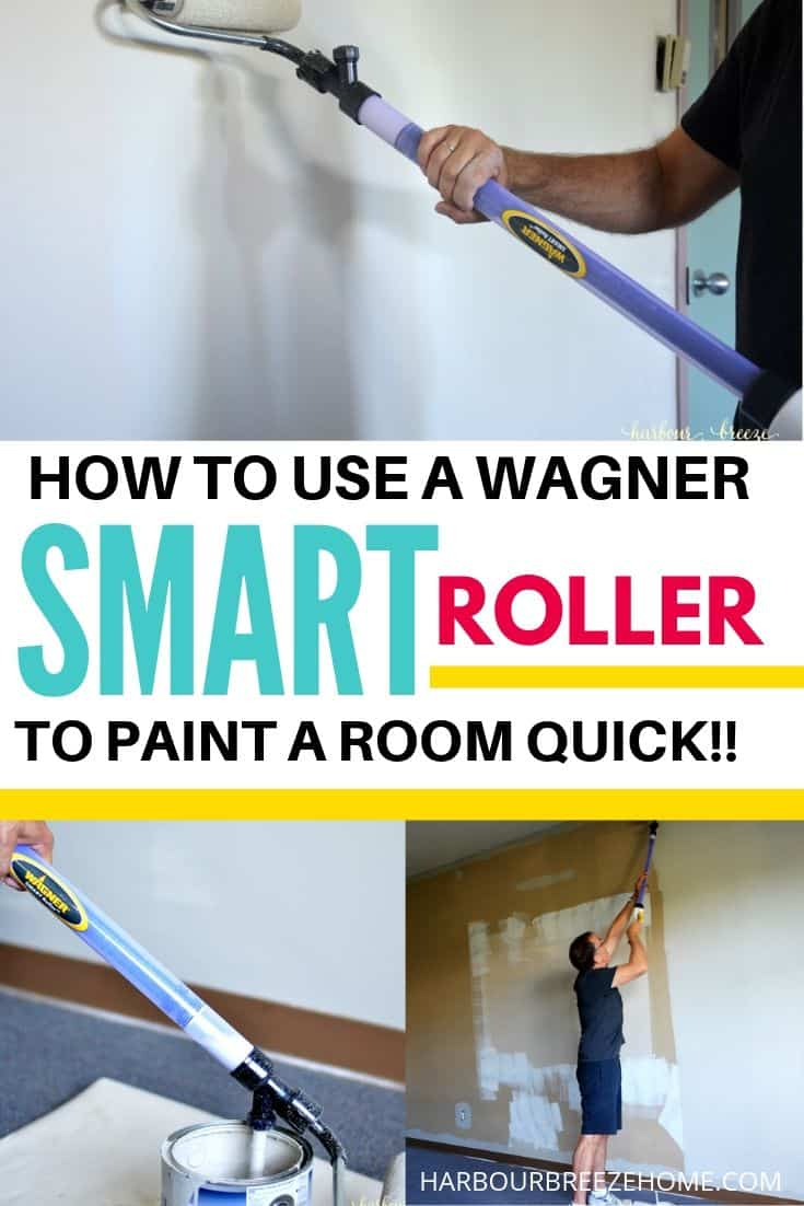 The Wagner Smart Roller makes painting a large classroom easy!