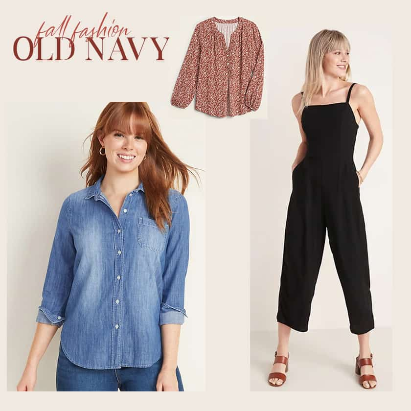 The 10 Piece Fall Wardrobe from Old Navy