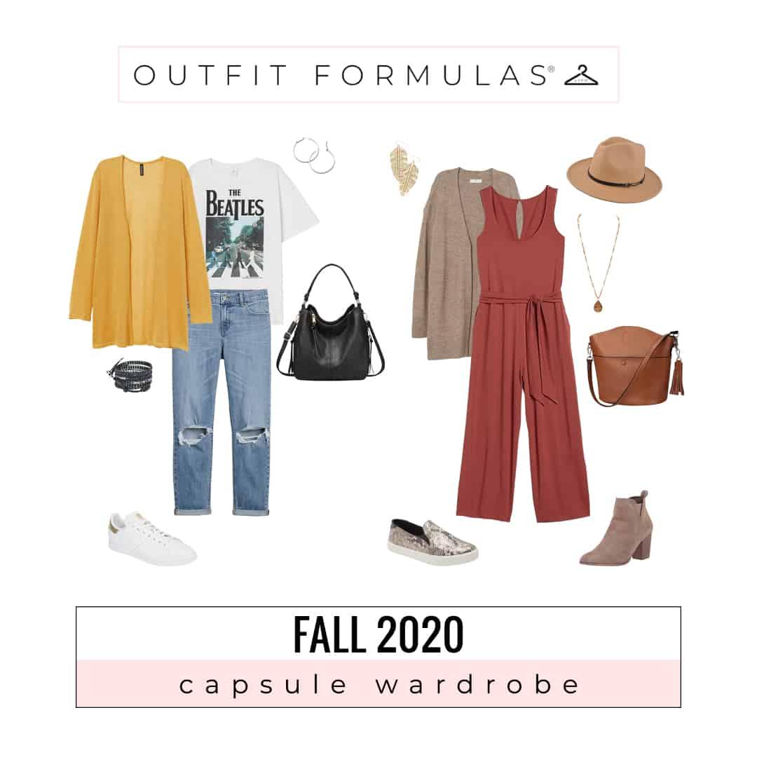 Fall Fashion 2020 Capsule Wardrobe Course Open Now