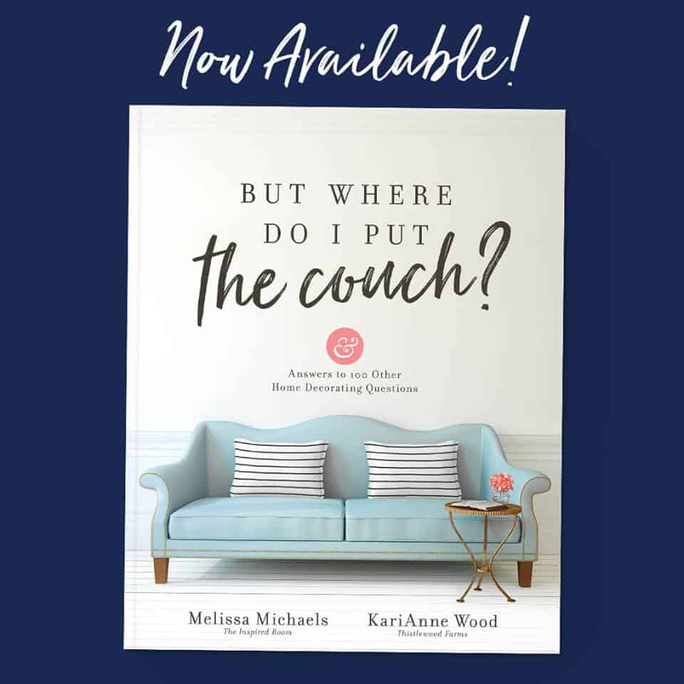 "Book called ""But Where do I Put the Couch""?"" - a resource to help with home decorating"