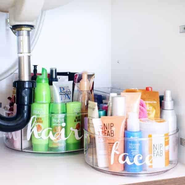 Under Bathroom Sink Organization Ideas