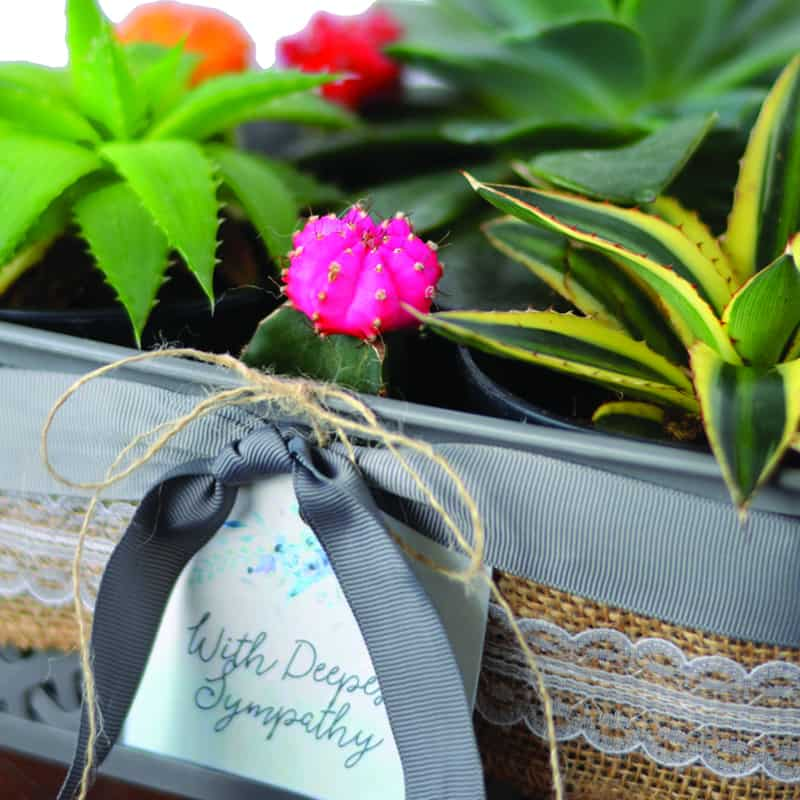 Show you Care with a DIY Sympathy Gift Basket
