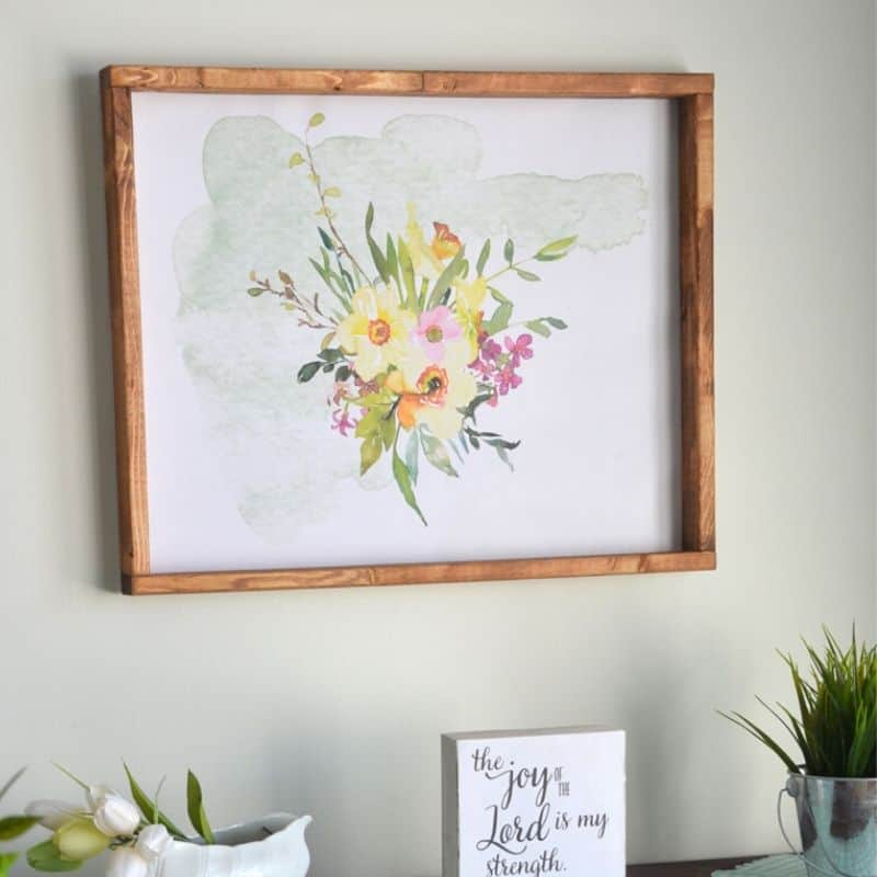 Brighten up a Bare Wall with this Free Printable Art