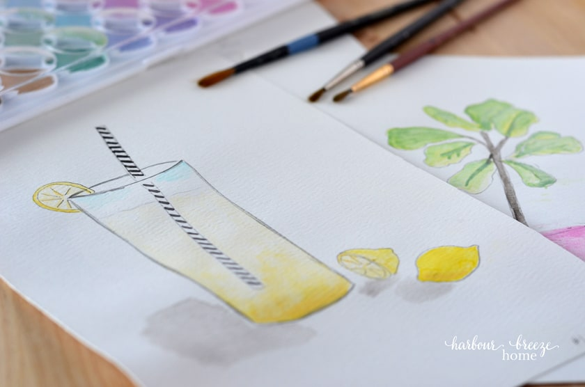 15 Easy Watercolor Painting Ideas For Beginners Tutorials Printables
