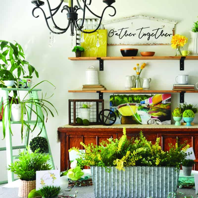 Spring Dining Room Decor + Spring Ideas Tour