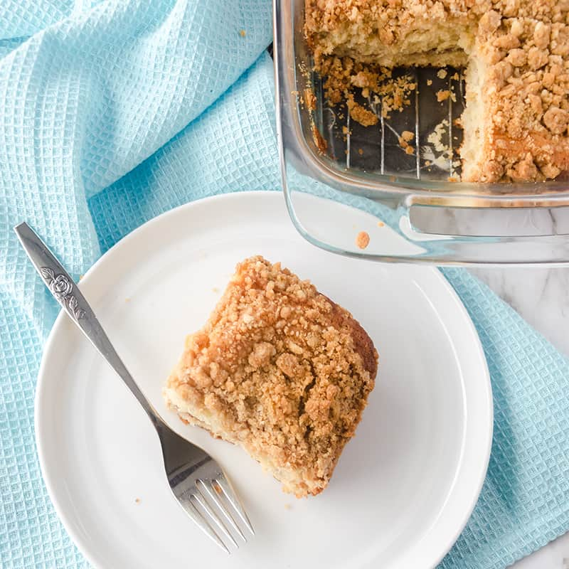 Bake Starbucks at Home with this Classic Coffee Cake Recipe